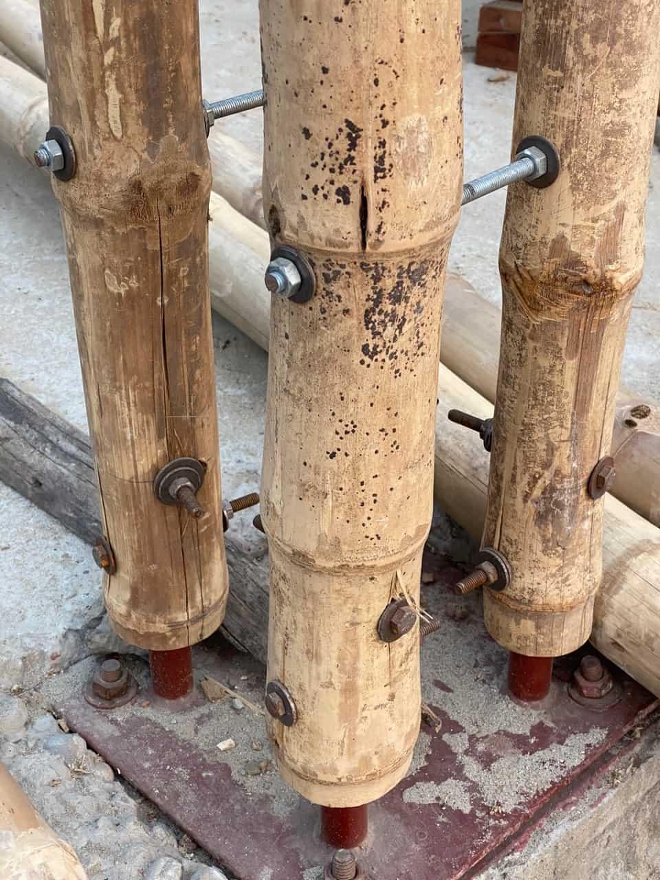 madi eco-village bambus detail