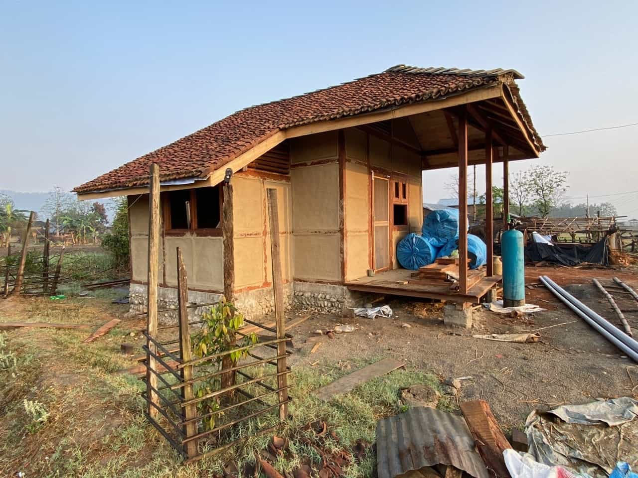 madi eco-village homestay baufortschritt