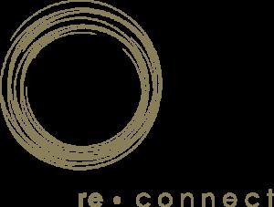 das logo von re.connect, auszeiten in der bergwelt der schweiz und nepals